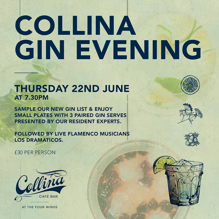 Four Winds Collina Gin Evening