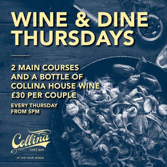 Collina Wine and Dine Thursdays